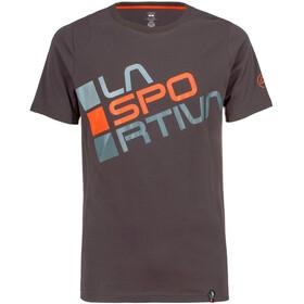 La Sportiva Square T-Shirt Men Carbon